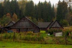 Il vecchio villaggio Immagini Stock