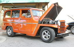 Vecchio Willys Jeep Fotografie Stock