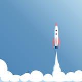 Il veicolo spaziale decolla Immagini Stock Libere da Diritti