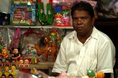 Il venditore del lato della via Immagine Stock Libera da Diritti
