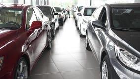 Il venditore dell'automobile e del compratore fa l'affare stock footage