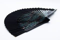Il ventaglio su un fondo bianco fotografie stock