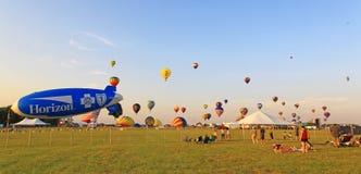Il ventiseiesimo festival annuale dell'aerostato del New Jersey Immagine Stock