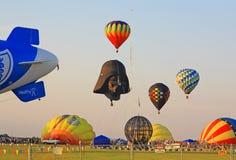 Il ventiseiesimo festival annuale dell'aerostato del New Jersey Fotografia Stock