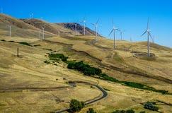 Il vento è energia Fotografia Stock Libera da Diritti