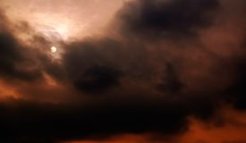 Il vento. Fotografia Stock