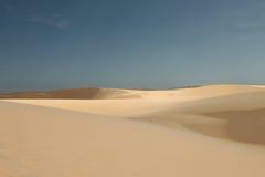Il vento e la sabbia Immagine Stock