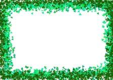 Il verde lascia il blocco per grafici Fotografie Stock