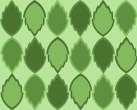 Il verde lascia la priorità bassa Immagine Stock Libera da Diritti