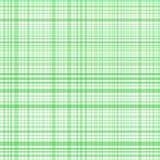 Il verde pastello barra il plaid Fotografia Stock