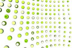 Il verde punteggia la priorità bassa Immagine Stock Libera da Diritti