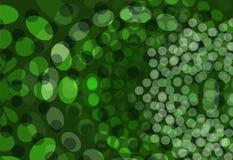 Il verde punteggia la priorità bassa Immagine Stock