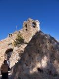Il vergine della chiesa della roccia in Mijasone di villaggi 'bianchi' più bei dell'area del sud della Spagna ha chiamato Andalus Fotografia Stock