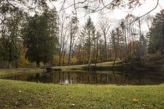 Il Vermont Autumn Foliage scenico Immagini Stock