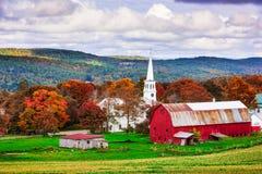 Il Vermont rurale U.S.A. Fotografia Stock