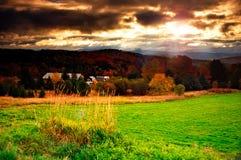 Il Vermont, S.U.A. immagini stock