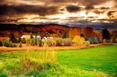 Il Vermont, S.U.A. Fotografia Stock Libera da Diritti