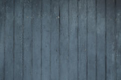 Il verticale nero ha sbiadito i bordi di legno verticali stagionati consumati Fotografia Stock Libera da Diritti
