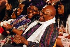 Il vescovo Emeritus Desmond Tutu dell'arco Fotografia Stock Libera da Diritti