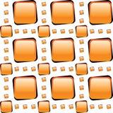 Il vetro arancione copre di tegoli il mosaico Fotografia Stock Libera da Diritti