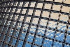 il vetro cuba la struttura Fotografia Stock