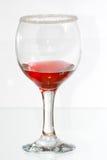 Il vetro del liquore del lampone rosso Immagini Stock Libere da Diritti