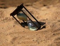 Il vetro della sabbia Fotografia Stock Libera da Diritti