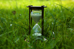 Il vetro della sabbia Immagine Stock Libera da Diritti