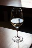 Il vetro di vino bianco Immagine Stock