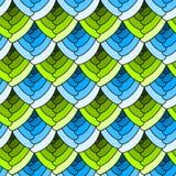 Il vetro macchiato senza cuciture riporta in scala il fondo illustrazione di stock