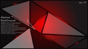 Il vettore astratto del fondo di struttura geometrica può essere utilizzato nella progettazione della copertura, la progettazione illustrazione di stock