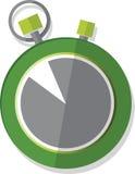 Cronometro illustrato fotografia stock libera da diritti