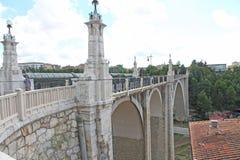 Il viadotto del odl, Teruel, Spagna Fotografia Stock