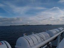 Il viaggio della barca fotografie stock libere da diritti