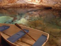 Il viaggio della caverna Fotografia Stock