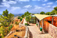 Il viaggio della caverna di Soreq Avshalom in Israel-w35 immagine stock