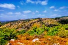 Il viaggio della caverna di Soreq Avshalom in Israele - fotografia stock