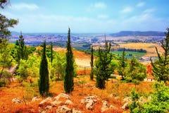 Il viaggio della caverna di Soreq Avshalom in Israele immagini stock libere da diritti