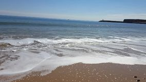 Il video abbellisce la spiaggia Lagos archivi video