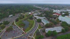 Il video di riserva precipita a cascata il parco Tallahassee FL stock footage