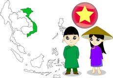 Il Vietnam royalty illustrazione gratis