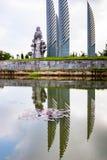 Il Vietnam: monumento del sud parallelo del sevententh Immagine Stock