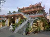 Il Vietnam - Pho Quang Pagoda fotografia stock libera da diritti