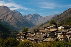 Il villaggio Fotografia Stock