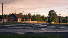 Il villaggio Fotografia Stock Libera da Diritti