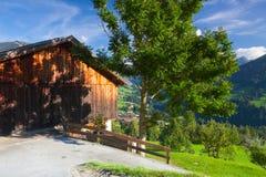 Il villaggio alpino di Alpbach e del Alpbachtal, Austria Fotografie Stock Libere da Diritti