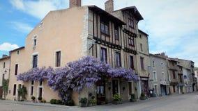 Il villaggio del san-Loup-sur-Thouet france fotografia stock libera da diritti