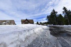Il VILLAGGIO dell'ORLO di Carter Lake Immagine Stock Libera da Diritti