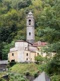 Il villaggio di Cardoso Stazzema in Alta Versilia Immagini Stock Libere da Diritti
