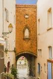 Il villaggio di Castellet Fotografia Stock